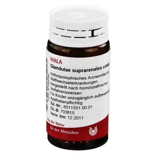 Glandulae suprarenalis comp. Gl - 1