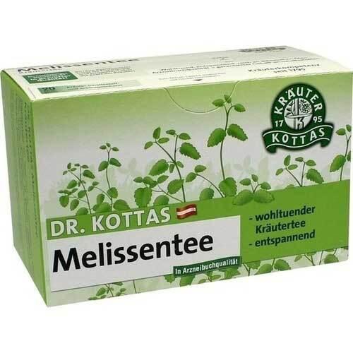 Dr. Kottas Melissentee Filterbeutel - 1