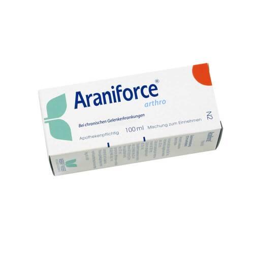 Araniforce arthro Tropfen zum Einnehmen - 1