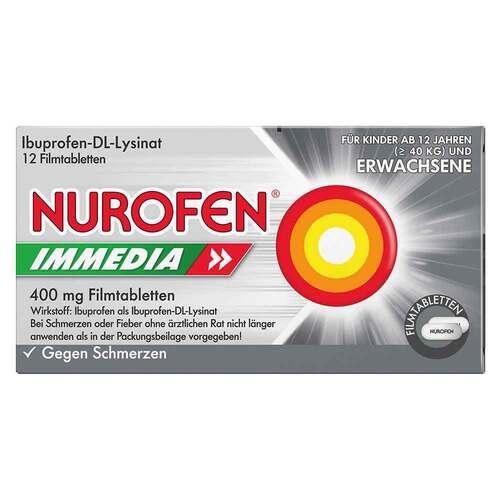 Nurofen Immedia 400 mg Filmtabletten - 1