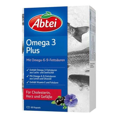 Abtei Omega 3 Plus Kapseln - 1