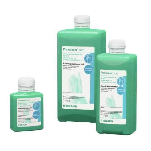 Promanum Pure Händedesinfektionsmittel - 1