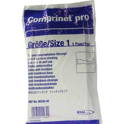 Comprinet pro Strumpf oberschenkel lang Größe 1 - 1