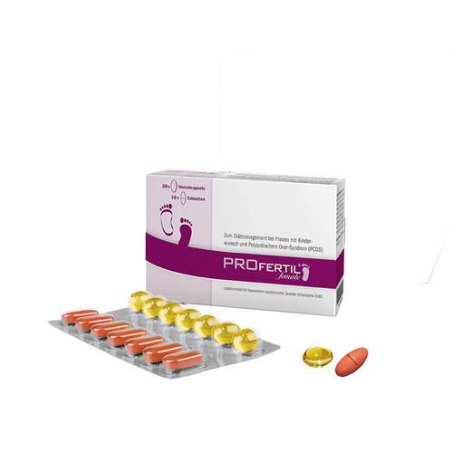 Profertil female Tabletten / Kapseln Kombipckg.1 Monat - 1
