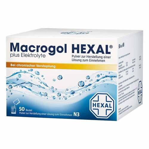 Macrogol Hexal plus Elektrolyte Pulver - 1