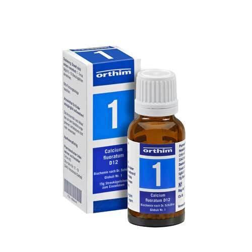Biochemie Globuli 1 Calcium fluoratum D 12 - 1