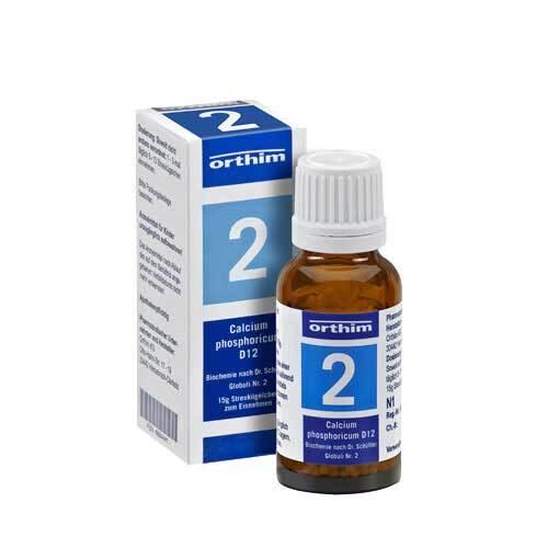 Biochemie Globuli 2 Calcium phosphoricum D 12 - 1