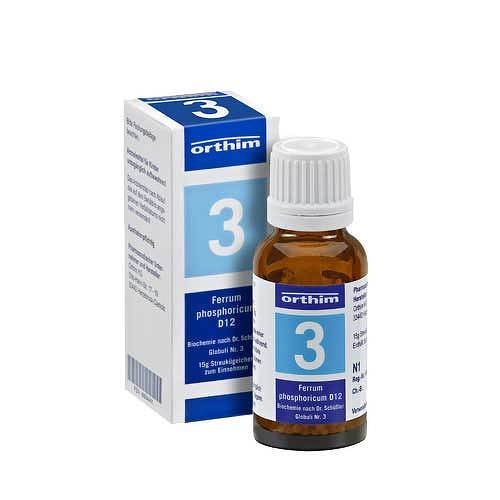 Biochemie Globuli 3 Ferrum phosphoricum D 12 - 1