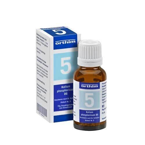 Biochemie Globuli 5 Kalium phosphoricum D 6 - 1
