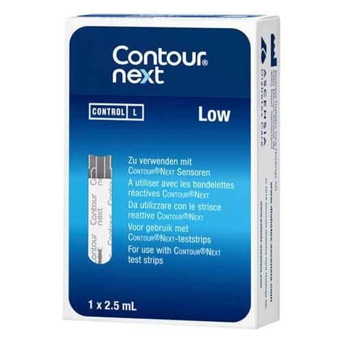 Contour next Kontrolllösung niedrig - 1