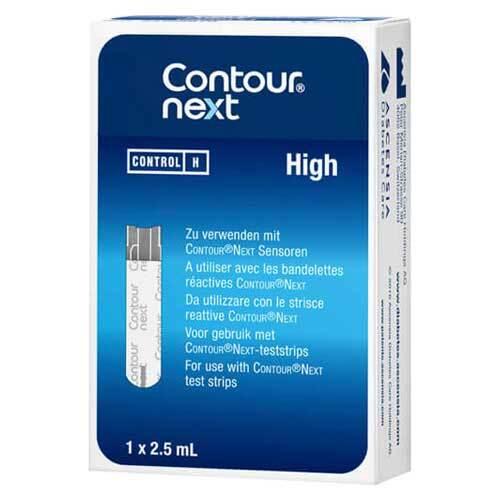 Contour next Kontrolllösung hoch - 1