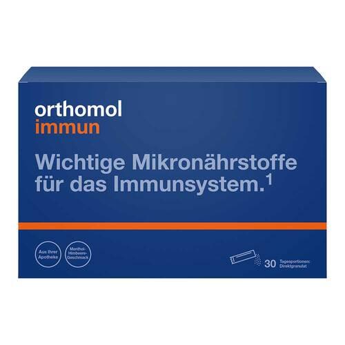 Orthomol Immun Direktgranulat Menthol-Himbeere - 1