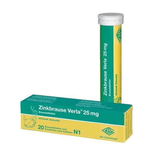 Zinkbrause Verla 25 mg Brausetabletten - 1