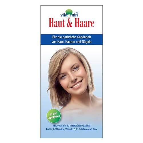Haut + Haare Vitamin Kapseln - 1