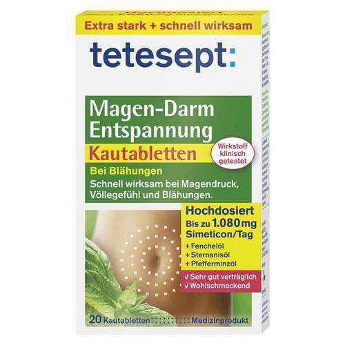Tetesept Magen-Darm Entspannung Kautabletten - 1