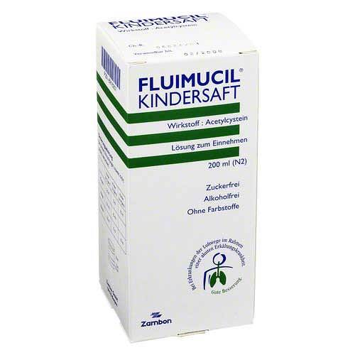 Fluimucil Kindersaft - 1