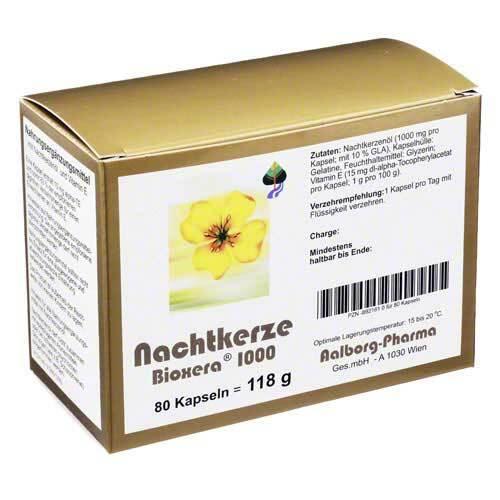 Nachtkerze Bioxera 1000 Kapseln - 1