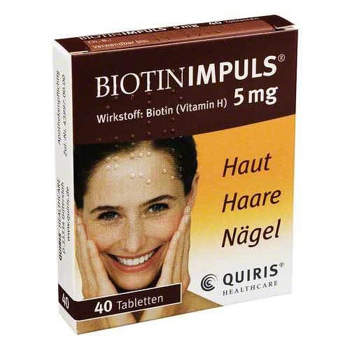 Biotin Impuls 5 mg Tabletten - 1