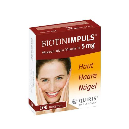 Biotin Impuls 5 mg Tabletten - 1