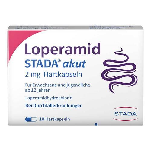 Loperamid STADA akut 2 mg Hartkapseln - 1