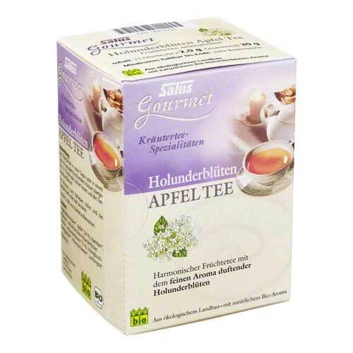 Holunderblüten Apfel Tee Salus - 1
