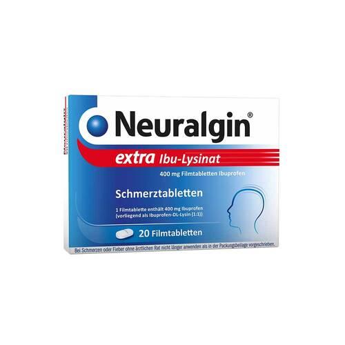 Neuralgin extra Ibu Lysinat Filmtabletten - 1