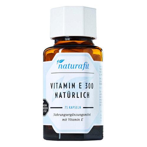 Naturafit Vitamin E 300 nat. Kapseln - 1