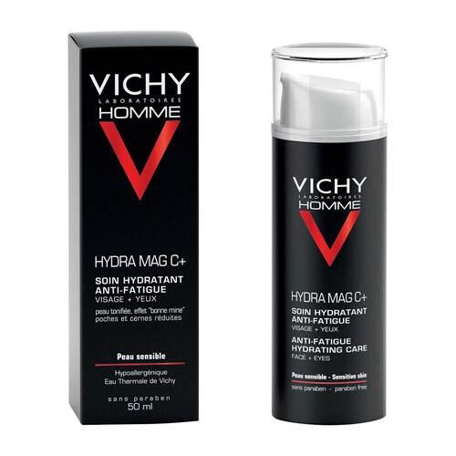 Vichy Homme Hydra Mag C + Feuchtigkeitspflege für Gesicht und Augen - 1