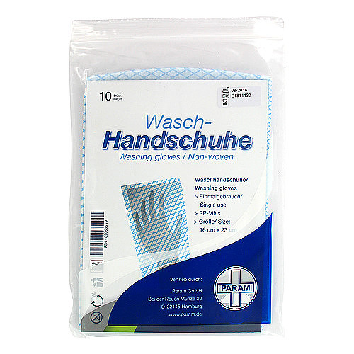 Waschhandschuh Einmal Param PP Vlies - 1