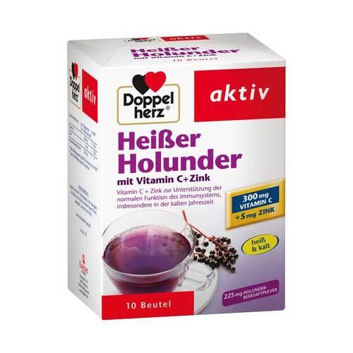 Doppelherz Heißer Holunder mit Vitamin C+Zink Granulat - 1