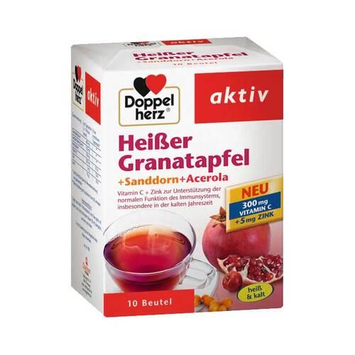 Doppelherz Heißer Granatapfel+Sanddorn+Acerola Granulat - 1