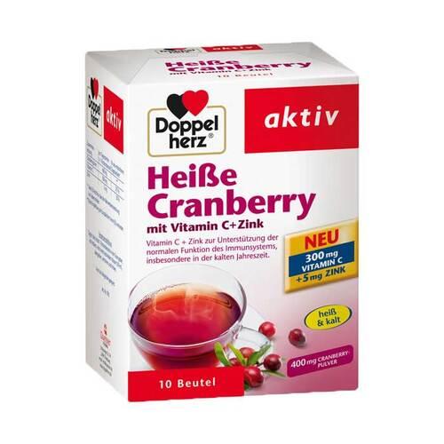 Doppelherz Heiße Cranberry mit Vitamin C+Zink Granulat - 1