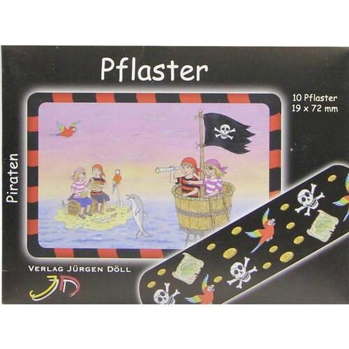 Kinderpflaster Piraten Briefchen - 1