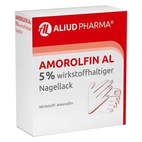Amorolfin AL 5% wirkstoffhaltiger Nagellack - 1