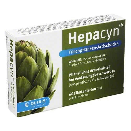 Hepacyn Frischpflanzen Artischocke Filmtabletten - 1
