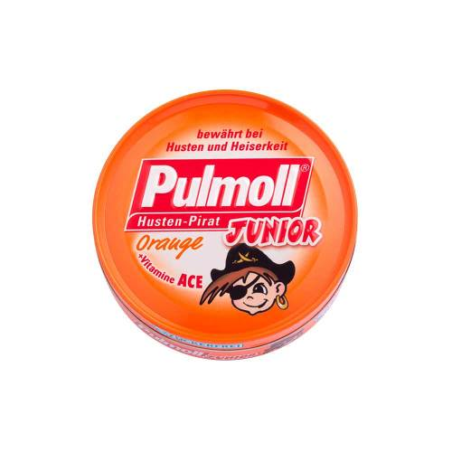 Pulmoll Junior Orange mit Vitam.ACE ohne Zucker Bonbons - 1