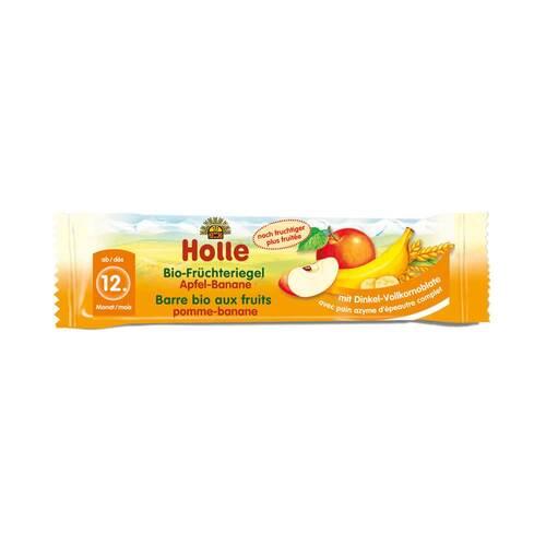 Holle Bio Früchte Riegel Apfel Banane - 1