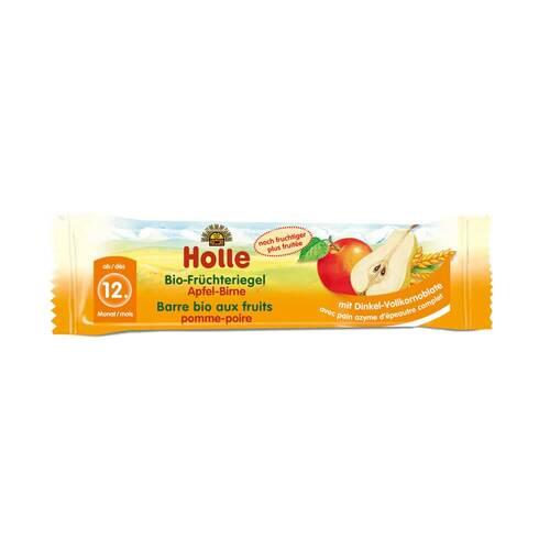 Holle Bio Früchte Riegel Apfel Birne - 1