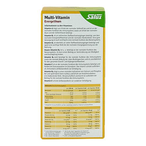 Multivitamin Energetikum Salus - 2