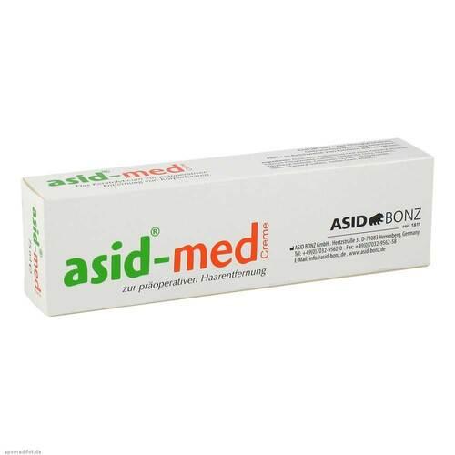 Enthaarungs Creme asid-med - 1