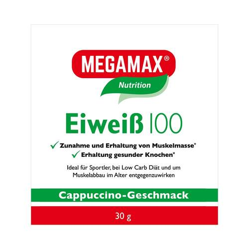 Eiweiss 100 Cappuccino Megamax Pulver - 1