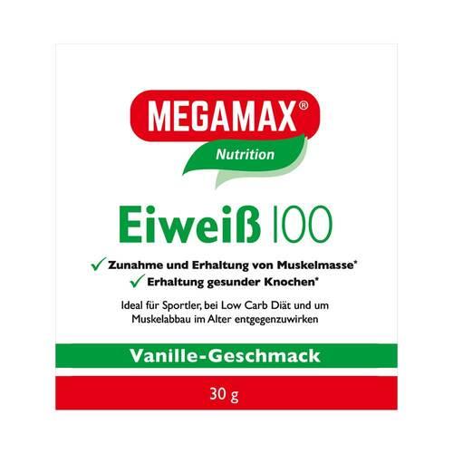 Eiweiss 100 Vanille Megamax Pulver - 1