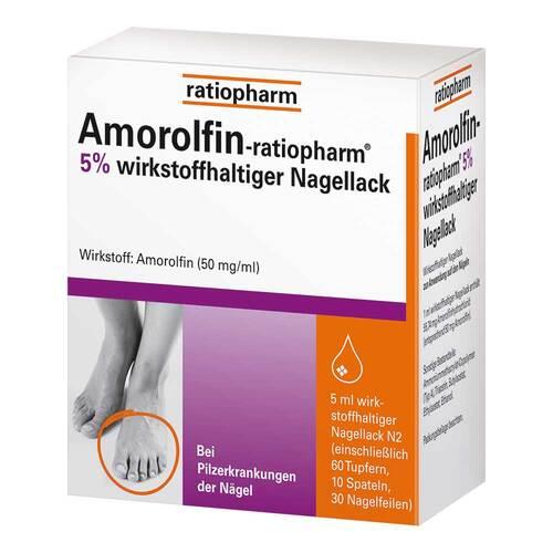 Amorolfin ratiopharm 5% wirkstoffhaltiger Nagellack - 1