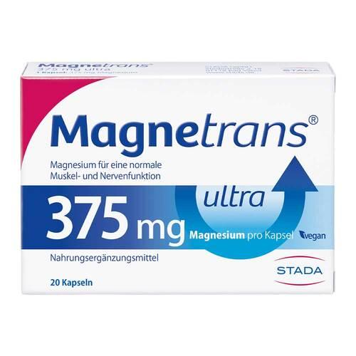 Magnetrans 375 mg ultra Kapseln - 1
