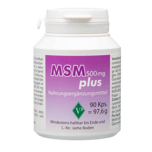 MSM 500 mg plus Kapseln - 1