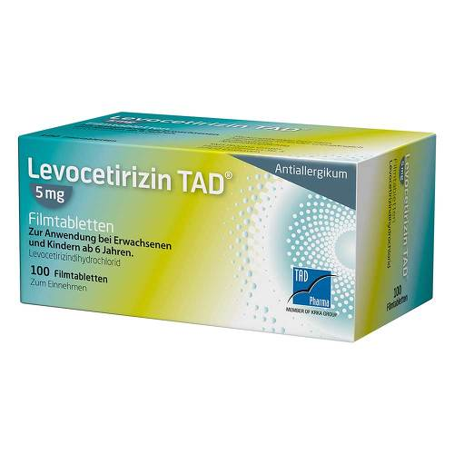 Levocetirizin TAD 5 mg Filmtabletten - 1