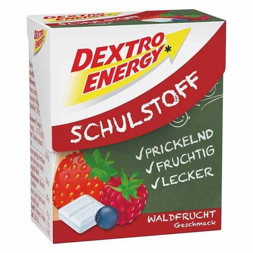 Dextro Energy Schulstoff Waldfrucht Täfelchen - 1