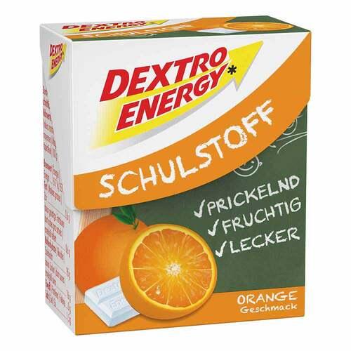 Dextro Energy Schulstoff Orange Täfelchen - 1