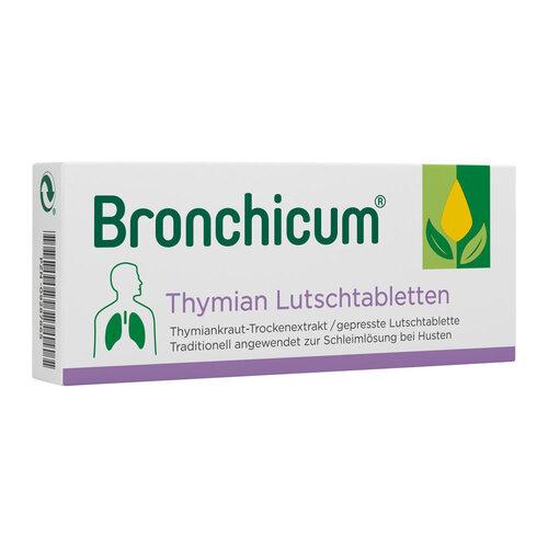 Bronchicum Thymian Lutschtabletten - 1