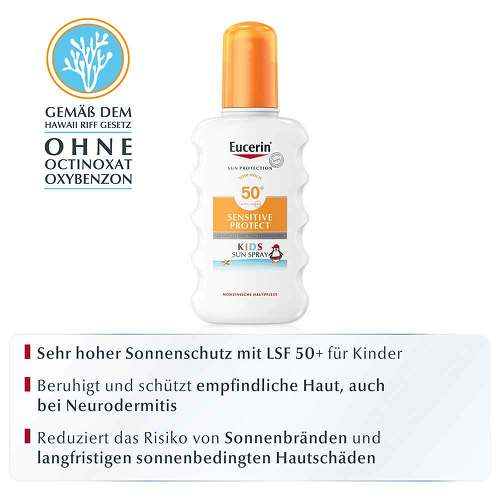 Eucerin Kids Sun Spray LSF 50+ - 2